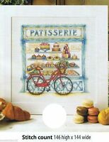 PATTISSERIE SCENE    -     CROSS STITCH PATTERN  ONLY   A6L3S