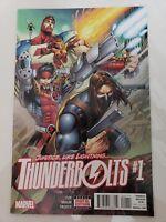 THUNDERBOLTS #1 (2016) MARVEL COMICS WINTER SOLDIER ATLAS! ZEB! MALIN! 1ST PRINT