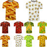 Men's High Quality T-Shirt 3D Printing Funny Fruit Summer Short Sleeve Tee Tops
