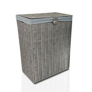 Clarisworld grey laundry basket large
