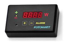 FOTOWATT Wattmetro wireless bidirezionale con allarme x autoconsumo fotovoltaico