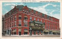 Postcard Cortland House Cortland NY