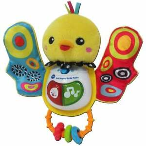 vTech Baby Soft Singing Birdie Rattle with Light Sound and Textures