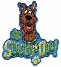 SCOOBY-DOO! Embroidered IRON-ON PATCH Hanna-Barbera **Free Shipping Everywhere**