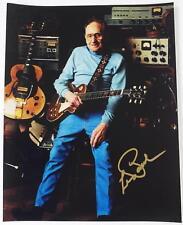 LES PAUL Signed Autograph 11x14 Photo