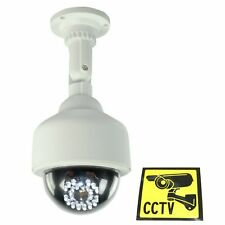 Top Quality Dummy CCTV PTZ Camera with IR LEDs that light up in Dark & sticker