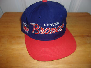 Denver Broncos Vintage Sports Specialties Youth Hat Cap NWOT Free Shipping!