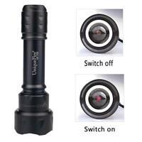 Uniquefire T20 IR 940nm 3W LED Hunting Flashlight 3 Modes Night Vision Torch