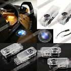 2pcs Laser Logo LED Car Door Step Ghost Shadow Courtesy Projector Light For BMW