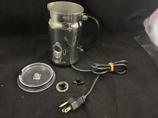 Nespresso Aeroccino 3192 Stainless Steel Electric Automatic Milk Frother Chrome