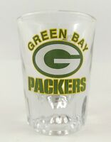 Green Bay Packers Shot Glass Licensed Product With NFL Holographic Label