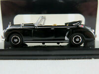 Ricko 38427 Mercedes-Benz 300c Cabrio (1955) in schwarz 1:87/H0 NEU/OVP