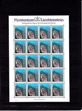 Liechtenstein légendes 50 r   feuille 20 TP n° 785