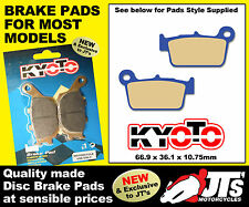 REPLICA REAR DISC BRAKE PADS FOR SHERCO 2.5 / 2.5i Enduro (4T) (06-09)