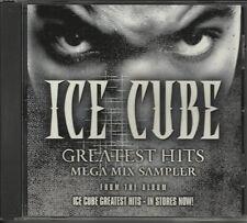 ICE CUBE Greatest Hits ULTRA RARE MEGAMIX Mega mix PROMO RADIO DJ CD Single