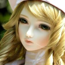 DollLove Alice 1/3 female super dollfie DL SD girl BJD Free face up eyes fur wig