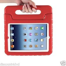 RED Kids Protective stand Case Cover Rubber Shock Proof Heavy Duty for iPad 23