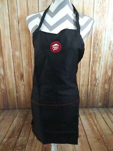 NWT / NIP uniform employee PIZZA HUT black 2 pocket bib apron