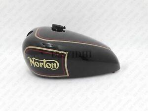 New Norton Es2 Black Paint Petrol Tank