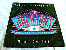 LP BRAZIL THE JACKSONS AN  AMERICAN DREAM MICHAEL JACKSON INSERT MOTOWN 1992