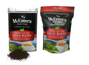 McEntee's Irish Loose Leaf Gold Blend Tea - 500g Tin & 250g Refil