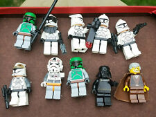 10 Lego Star Wars Stormtroopers Clone Troopers Darth Vader Minifig Figure Weapon