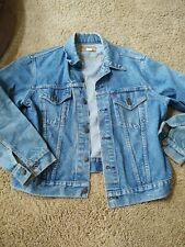 Vintage Levi's Jean Jacket 1980s Size 44 Preowned