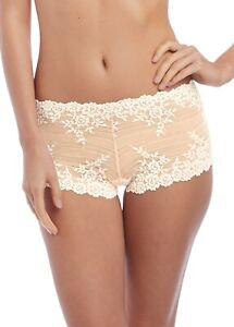 WACOAL EMBRACE LACE SHORTY WA067491 NUDE