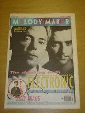 MELODY MAKER 1991 SEP 14 ELECTRONIC NIRVANA BILLY BRAGG