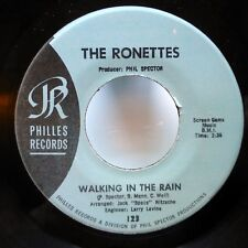 RONETTES 45 Paradise / Walking in the rain REPRO girl group VG++  d2050