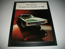 1969 CHRYSLER CDN.SALES BROCHURE  NEW YORKER 300 NEWPORT & CUSTOM TOWN & COUNTRY