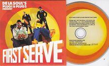 FIRST SERVE DE LA SOUL'S PLUG1 & PLUG2 RARE 16 TRACK PROMO CD