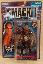 WWF Titantron Live Smackdown! The Rock Dwayne Johnson Title Belt Jakks WWE (MOC)