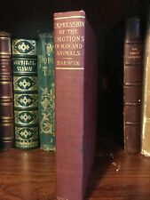 1897 Expression of the Emotions in Man and Animals Charles Darwin Illustrated