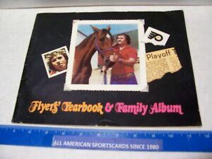 1977-78 PHILADELPHIA FLYERS YEARBOOK & FAMILY ALBUM EXCELLENT