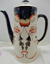 """Antique Burleigh Ware """"Sandon"""" circa 1905 Tea Pot Chocolate Pot"""