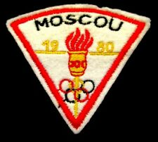 ECUSSON MOSCOU ♦ JEUX OLYMPIQUES 1980 ♦ - FRENCH CITY BADGE
