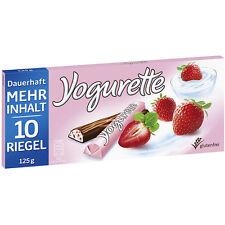 6 Bars x YOGURETTE (yoghurt chocolate + strawberry) / 750g / 1.65lbs / 26.46oz