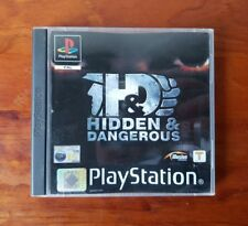 PS1 Hidden & Dangerous Game PAL Playstation 1st Person Action Shooter - Complete