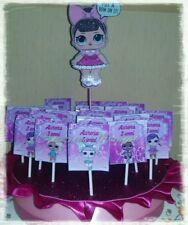 Base + 20 lecca lecca Lol surprise a scelta  Festa compleanno party bambina