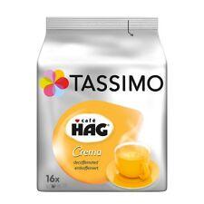 TASSIMO - CAFE HAG CREMA - DECAFF - 16 t-discs - FREE SHIPPING