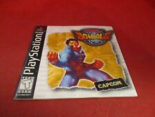 Rival Schools PS1 PlayStation 1 Instruction Manual Booklet ONLY