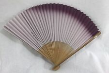 扇子 Sensu - Eventail pliant traditionnel japonais - Mauve