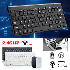 PC Computer Wireless Tastatur Maus-Set Funk Keyboard Kabellos USB Disk Neu