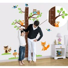 Height Measure Wall Stickers for kids Baby Room's Wall Posters Growth Chart