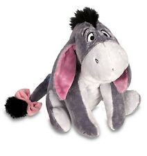 "Disney Store Authentic Patch Eeyore BIG 12"" Plush Animal Toy Winnie the Pooh"