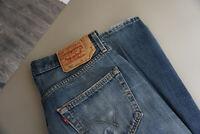 Levis Levi`s 501 Herren Men Jeans Hose 32/32 W32 L32 stonewashed Blau TOP AP5