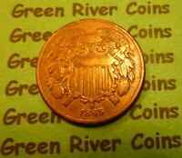 1865  Two Cent Piece   #TCP65      (1864 to 1873)