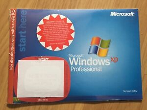 Microsoft Windows XP Professional 1 2CPU Version 2002 OEM FULL OPERATING SYSTEM