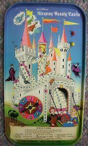 Vintage WALT DISNEY SLEEPING BEAUTY CASTLE GAME Superior Toy Rare!